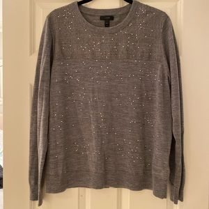 Jcrew sweater with sparkles